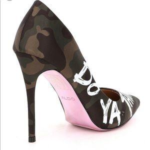 e317b72563c4f Aldo Shoes | Dominya Camouflage Do Ya Thing Pumps | Poshmark